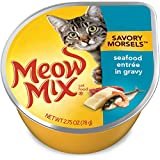 Meow Mix Savory Morsels Seafood Entrée Wet Cat Food, 2.75 Oz
