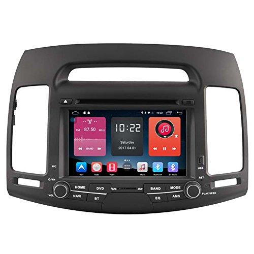 Autosion In Dash Android 6.0 Car DVD Player Sat Nav Radio Head Unit GPS Navigation Stereo for Hyundai Avante Elantra 2007 2008 2009 2010 2011 Support Bluetooth SD USB Radio OBD WIFI DVR 1080P by Autosion