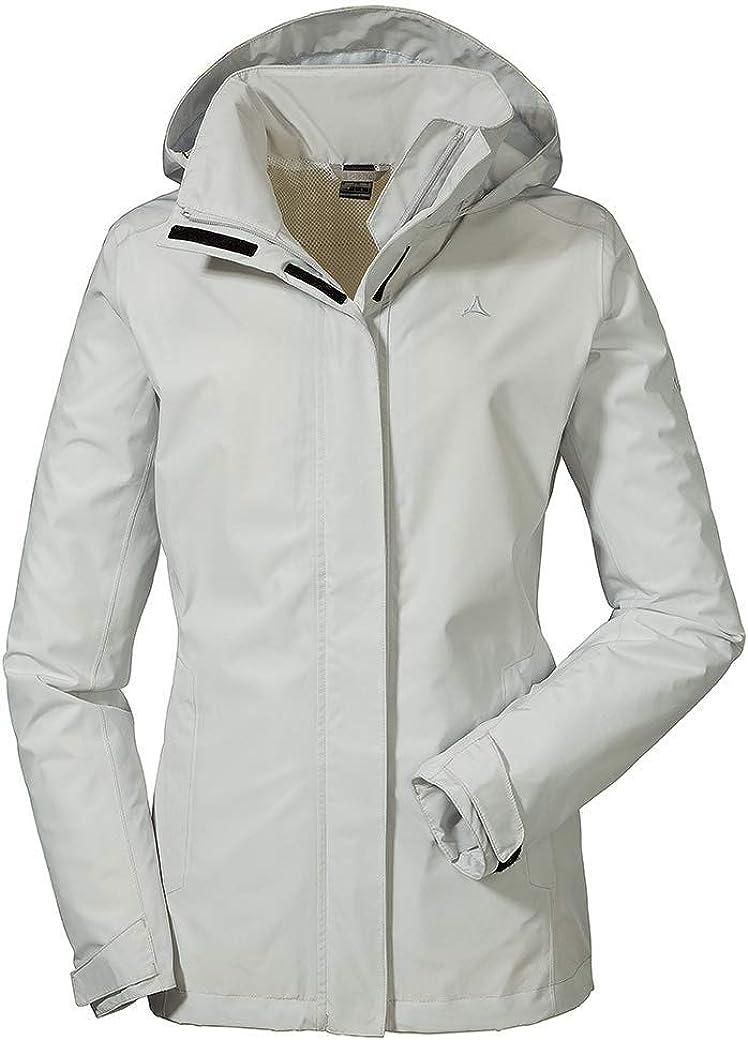 Sch/öffel Damen Jacket Sevilla2 wind und wasserdichte Outdoorjacke aus atmungsaktivem Material leichte Regenjacke f/ür Frauen