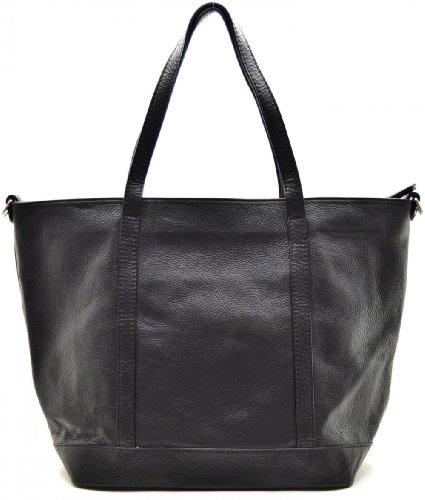Noir cabas Sac Main MY BAG à Modèle cuir femme Irupu OH wqxvRA6X