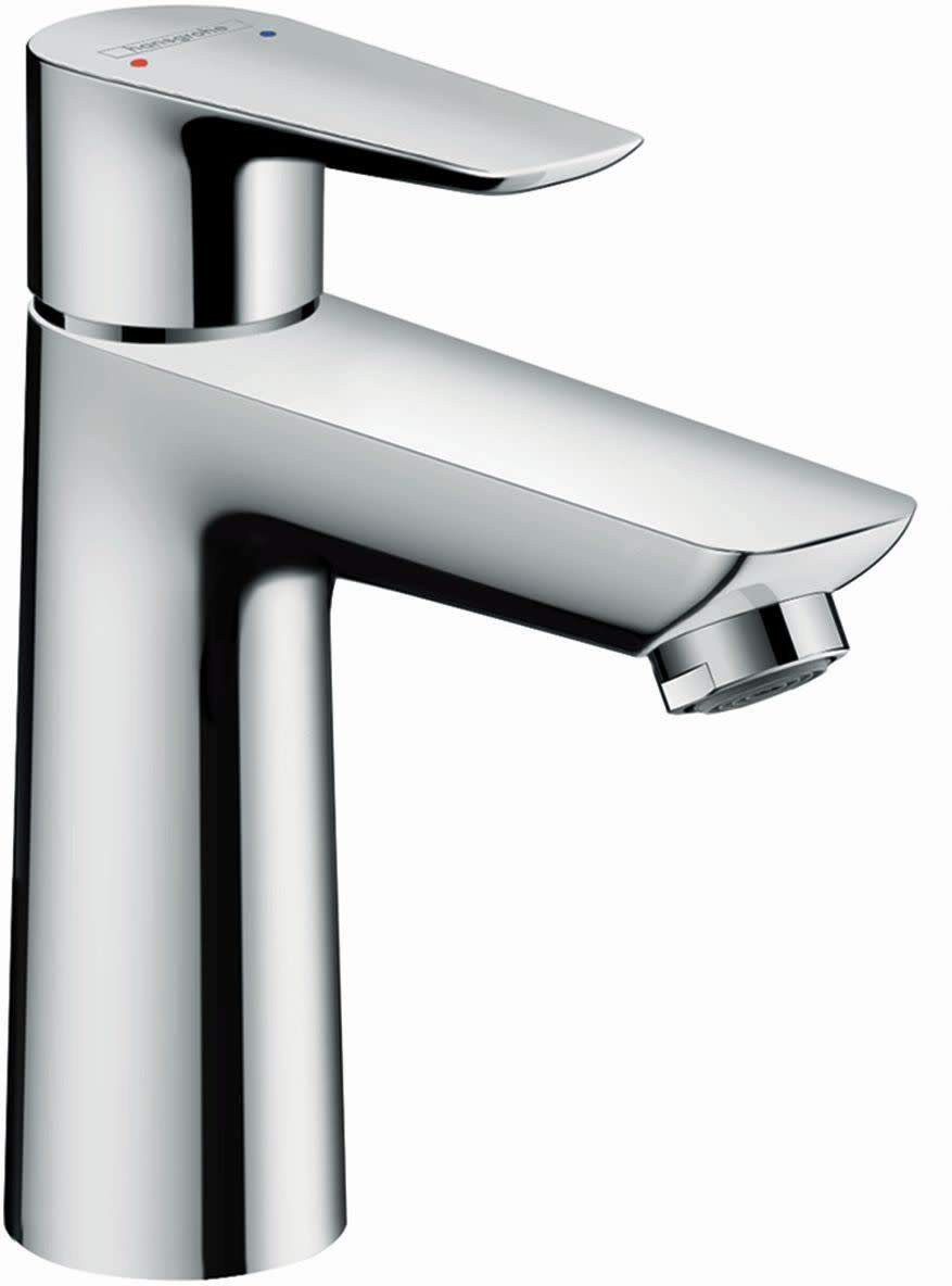 hansgrohe Talis EModern 1-Handle6-inch Tall Bathroom Sink Faucet in Chrome, 71709001