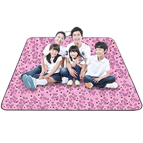 - Pagacat Portable Folding Moisture Proof Waterproof Print Outdoor Camping Picnic Mat Cots