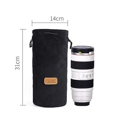 Lightpurple Camera and Lens Protective Bag Drawstring Pouch