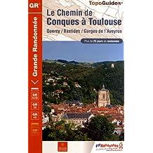 CHEMIN DE CONQUES À TOULOUSE - 12-31 - GR - 3646  (LE)