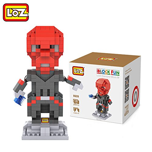 - WEKIPP LOZ Puzzle Blocks Abs 9Cm Arrow Red Skull Action Figure Model Toy DIY Toy Limited Collection -Multicolor Complete Series Merchandise