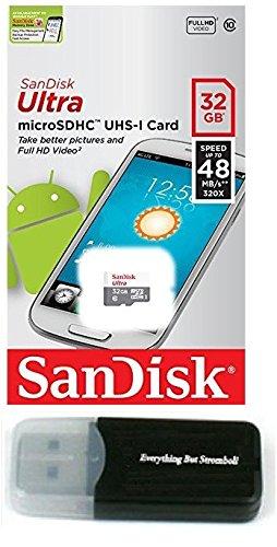 32 GB SanDisk Ultra Tarjeta de memoria microSD HC MicroSDHC Clase ...