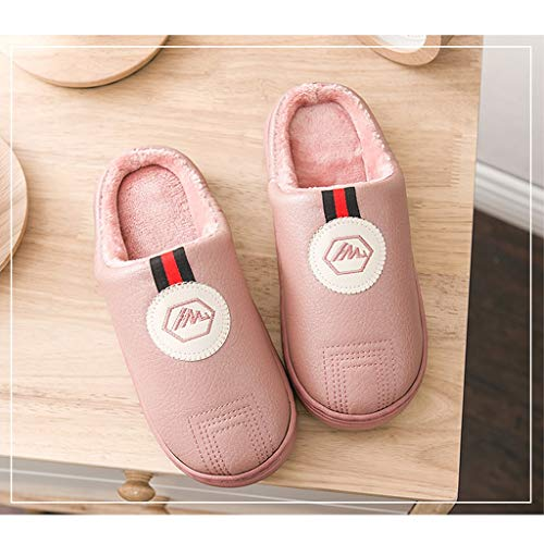 Colore Per Amp;pan Antiscivolo Spesso In Cotone Calde Pantofole DE2Y9IeWbH