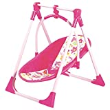 Adora 4-in-1 Playset (Baby Carrier Seat, Swing & High Chair) for Dolls up to 20 inches