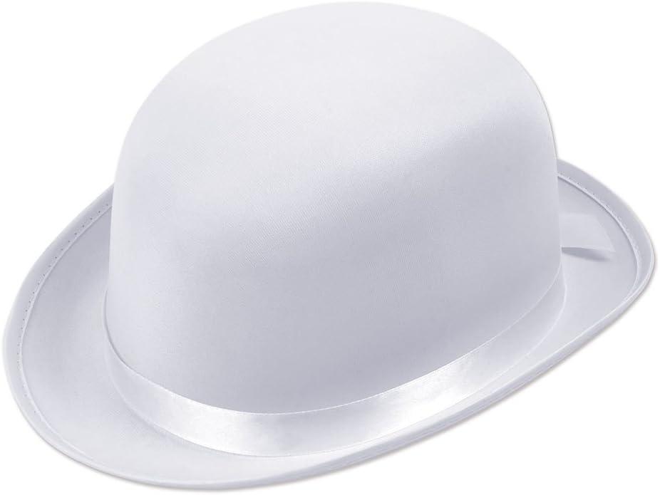 Bowler Hat White