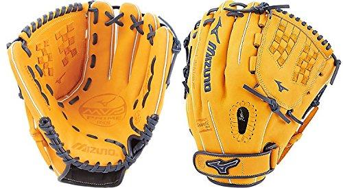 (Mizuno MVP Prime SE Fastpitch GMVP1200PSEF6 Infield Model Gloves, Cork/Navy, 12