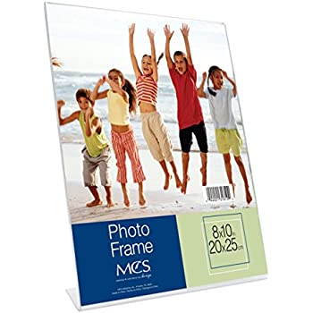 MCS 8x10 Inch Bent Acrylic Picture Frame, Vertical (31810)