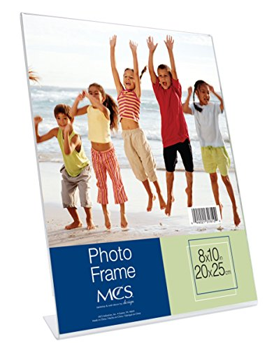 MCS 8x10 Inch Bent Acrylic Picture Frame, Vertical (31810) ()