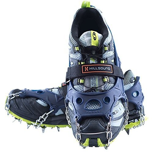 Hillsound Trail Crampon Ultra, Blue, Large by Hillsound