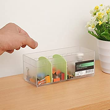 lonfei cajas de almacenamiento cajas de almacenamiento de escritorio multifuncional de plástico compartimento transparente creativo para inodoro acabado ...