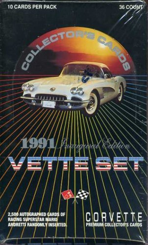 1991 Inaugural Edition Vette Set Trading Cards ()