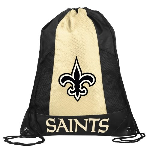 FOCO New Orleans Saints 2014 Mesh Pocket Drawstring Backpack by FOCO