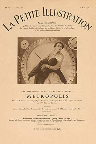 The original pressbook for the classic silent science fiction movie Metropolis by Fritz Lang Poster Print by unkown (18 x 24)