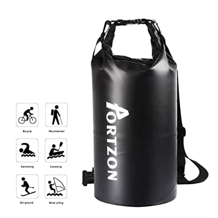 Amazon.com: Portzon bolsas secas impermeable enrollable ...