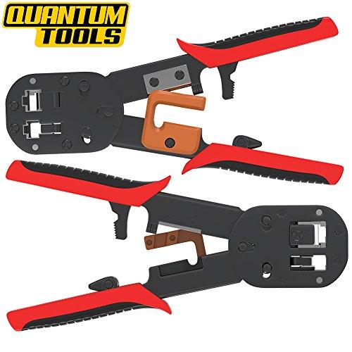professional heavy duty RJ45 crimper By Quantum Tools for ez RJ45 crimp tool