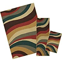 Mohawk Home Soho Wave Impression Multi Rug Set (Contains: 16 x 26, 18 x 5 and 5 x 7)