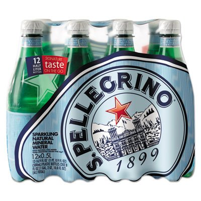 (SAN PELLEGRINO Sparkling Mineral Water, 500 ML (Pack of 12))