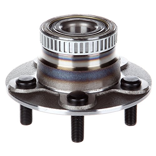 Wheel Hubs New Premium Bearing and Hub Assembly Rear 5 Lugs w/ABS for Chrysler PT Cruiser Dodge Neon 2000-2005 Compatible with 512167