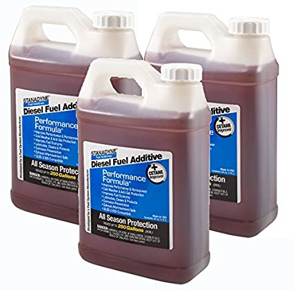 Amazon.com: Stanadyne Performance Formula Diesel Fuel Additive 3 Pack of 1/2 Gallon Jugs - Part # 38566: Automotive