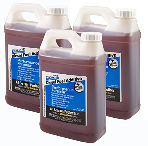 Stanadyne Performance Formula Diesel Fuel Additive 3 Pack of 1/2 Gallon Jugs – Part # 38566