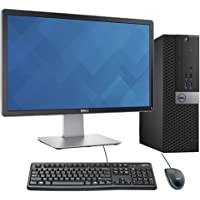 """Dell OptiPlex 3040 Full Desktop PC i5-6500 8GB RAM 480GB SSD + 24"""" Dell Monitor (Renewed)"""