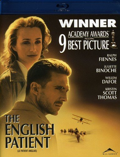 The English Patient [Blu-ray] (Bilingual) Kristin Scott Thomas Willem Dafoe Juliette Binoche Naveen Andrews