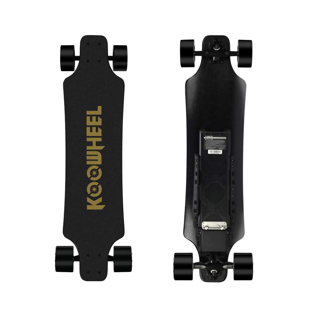 Koowheel Electric Skateboard, D3M 2nd Generation Electric Longboard with Remote - Dual Motor 2x350W 36 Inch Electric Skateboard Kooboard - 24.8 mph Speed, 286 lbs Max Load (D3M-2)