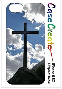 Cross Jesus Christian Decorative Sticker Decal for your iPhone 5 Lifeproof Case