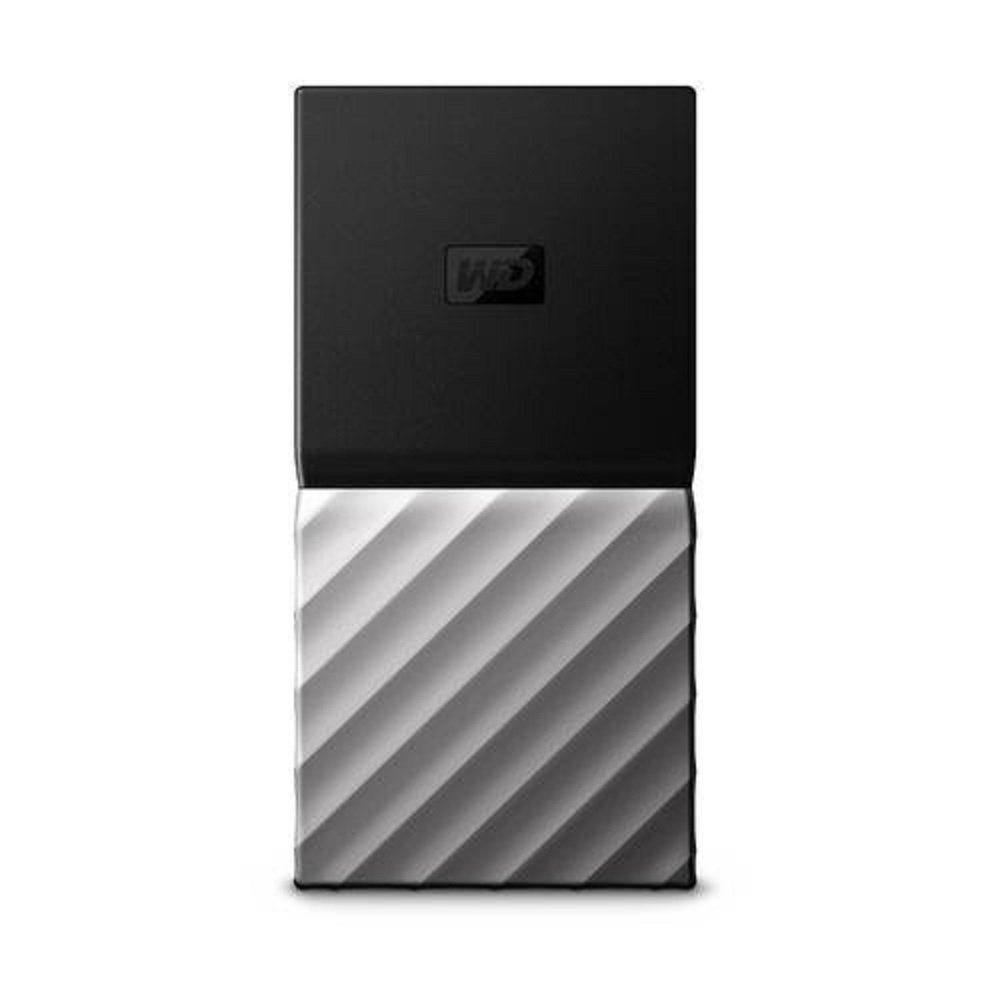 WD 512GB My Passport SSD Portable Storage - USB 3.1 - Black-Gray - WDBK3E5120PSL-WESN by Western Digital
