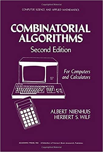 Combinatorial Algorithms (Computer science and applied mathematics)