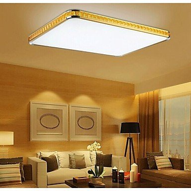 DXZMBDM® Putian@ 32W Flush Mounte LED Light Modern Golden Acrylic with Light Ajustable , White-220-240V