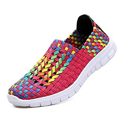 EZUOGO Womens Casual Shoes Fashion Loafers Walking and Driving Shoes Flat Slip Ons Shoes