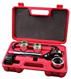 Kauplus Radiator and Cap Test Kit Cooling System Pressure Test Kit Radiator and Pressure Cap Test kit Coolant Pressure Tester