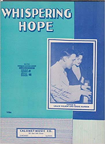Amazon.com: Vintage Sheet Music: WHISPERING HOPE, for voice and ...