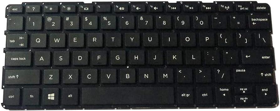Almencla Repuesto Teclado de Laptop Compatible para HP ...