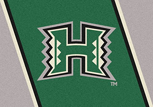 (Ship from USA) 4x6 Milliken Hawaii Rainbow Warriors NCAA Spirit Area Rug - Approx 3'10''x5'4'' /ITEM NO#E8FH4F85493497 by Mohenion