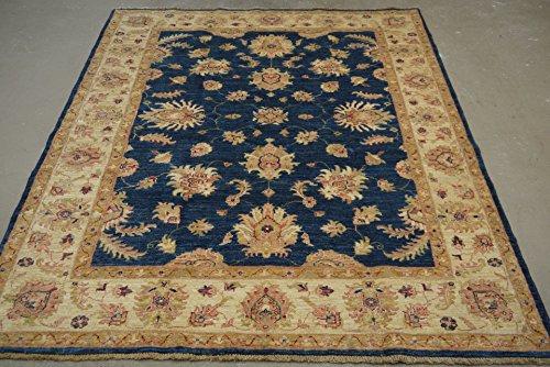 Babak's Oriental Carpets Chobi Ziegler Handmade Afghan Rug 6'6''x ()