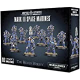Warhammer 40K 40000 Adeptus Astartes The Horus Heresy Mark III Space Marines (10 Miniatures)