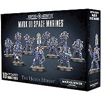 Games Workshop Ltd. Warhammer 40K 40,000 Adeptus Astartes The Horus Heresy Mark III Space Marines (10 Miniatures)