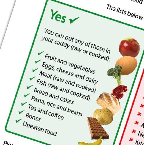 AllBio Sacchetti per la spazzatura 75/% biodegradabili e compostabili 25 l 75 pz