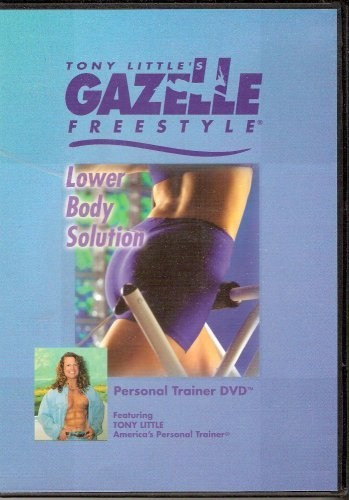 Gazelle Little Tony Dvd Freestyle - Tony Little's Gazelle Freestyle Lower Body Solution Personal Trainer DVD