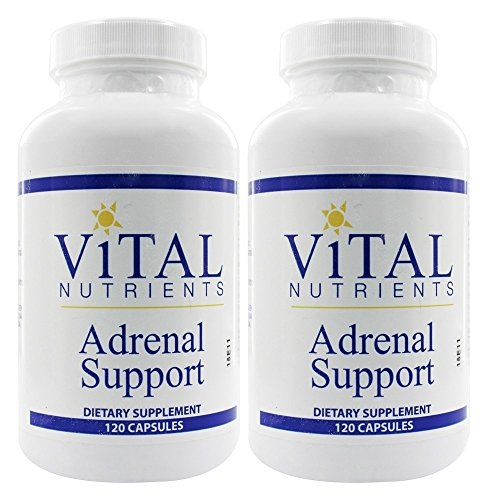 Vital Nutrients Adrenal Support 120 Capsules - 2 pack Discount (240 caps)