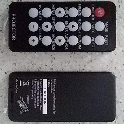 Calvas remote control for Panasonic projector PT-LS25DU PT-LS26E PT-SD2600 controller