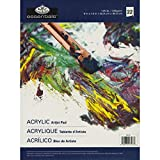 Royal Langnickel 22-Sheet Oil and Acrylic Essentials Artist Paper Pad, 9-Inch by 12-Inch