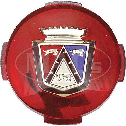 MACs Auto Parts 66-26921 - Thunderbird Wheel Cover Medallion, 2-1/16 Diameter