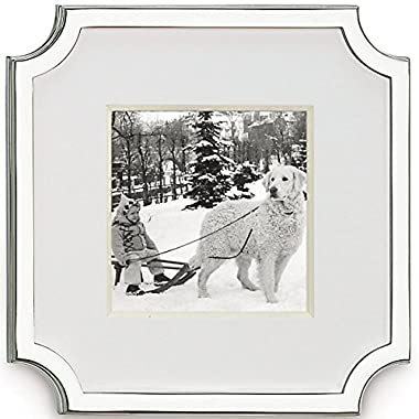 kate spade new york Silver-Plated Frame, 3  x 3